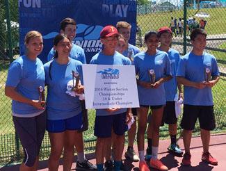 2016 Junior Team Tennis Champions